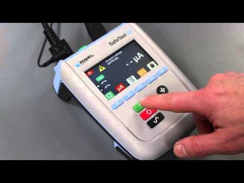 Rigel Medical SafeTest 50 Electrical Safety Analyzer - USA