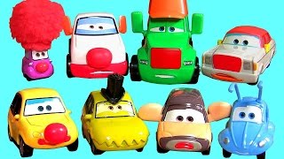 Disney Pixar Circus Cars Super Chase Complete Diecast Collection Mattel Radiator Springs Bug