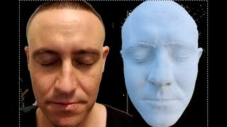 How To Make an Identical 3D Ceramic Face of Myself - Taiz Life CastSystem  On My Special Head