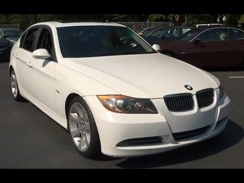 2006 Bmw 3 Series 330i E90 Sedan Youtube