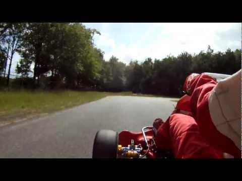 Tristan van der Hoeven Onboard ICC 125 cc shifter Pavesi Birel Kart