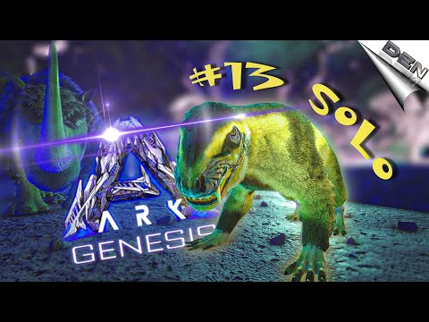 #13 ARK GENESIS – ПРИРУЧИЛ ПУРЛОВИЮ БЕЗ ЛОВУШКИ В АРК (арк генезис, Ark Solo)- Ark Survival Evolved