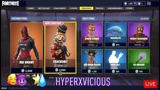 New ITEM SHOP COUNTDOWN| December 18th NEW SKINS| Fortnite Live item Shop #itemshop