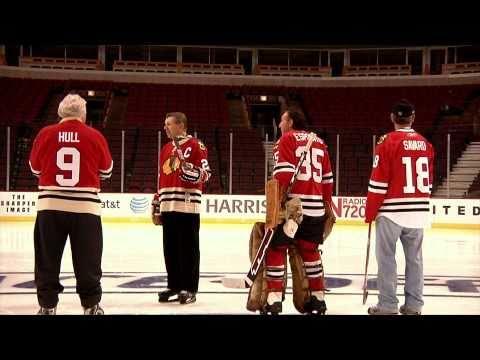 The Blackhawks Ambassadors Take The Ice