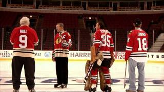 The Blackhawks Ambassadors Take The Ice