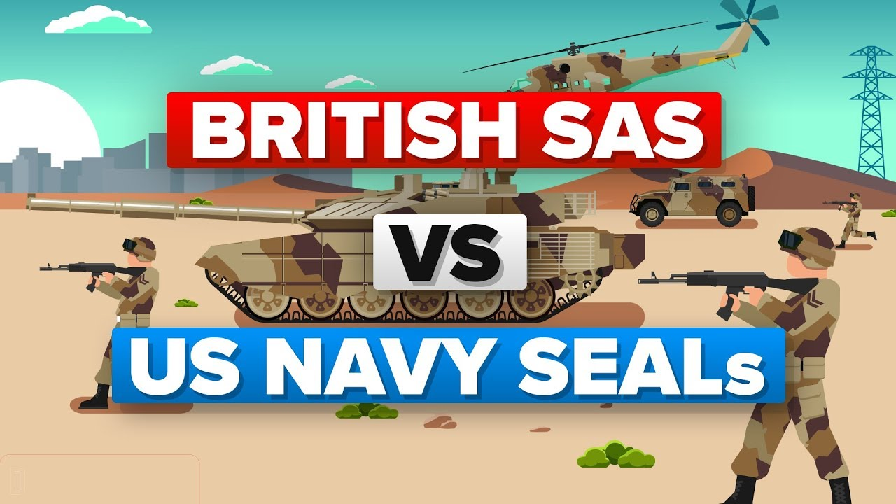 Download British SAS Soldiers vs US Navy SEALs - Military Training Comparison