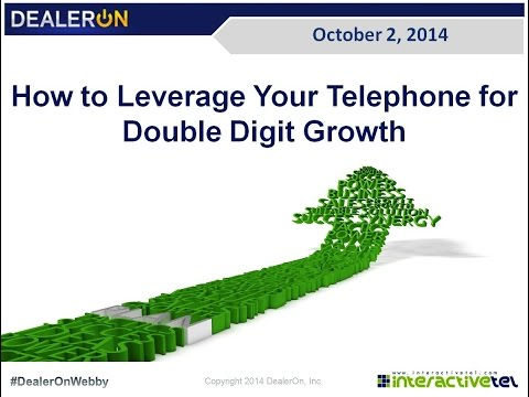 How to Leverage Your Telephone for Double Digit Growth