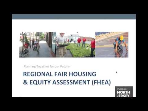 PlanSmart NJ: Fair Housing & Equity Assessment for Together North Jersey