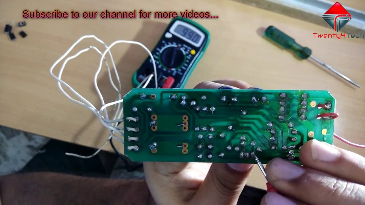 medium resolution of how to repair electronic choke ballast at home in hindi