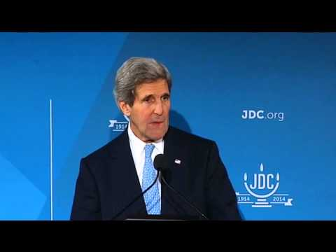 Secretary Kerry Delivers Remarks at the American Jewish Joint Distribution Committee