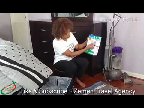 How to pack heavier clothes when traveling to Ethiopia ልብሶችን ወደ አገር ቤት ለመውሰድ ቀላል መፍትሄ....