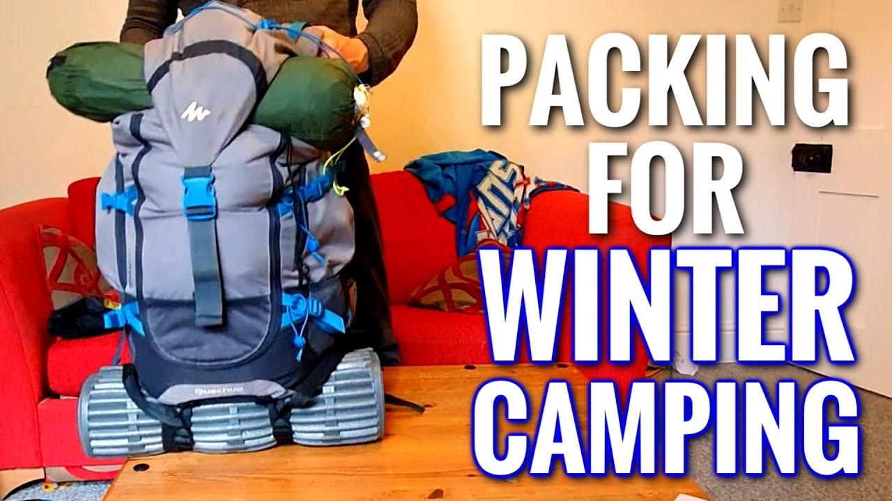 Wild Camping Essentials & How to Pack Your 50L Backpack ...