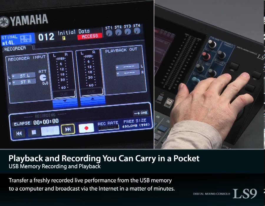 ls9 usb memory recording and playback youtube rh youtube com manual mesa de som digital yamaha ls9 32 manual mesa de som digital yamaha ls9 32
