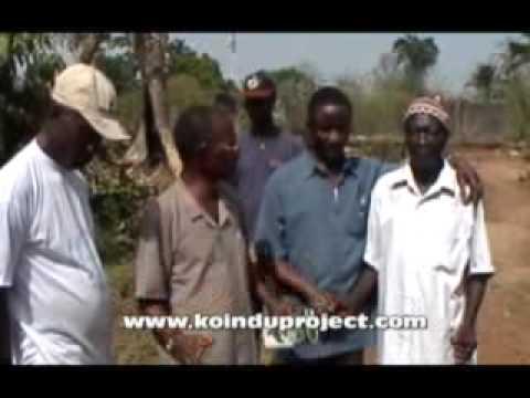 Meeting the Koindu Town Chief