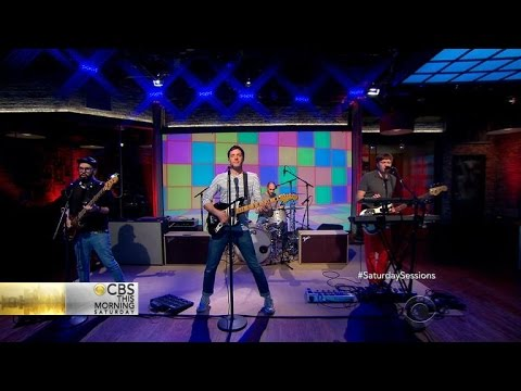 """Saturday Sessions: OK Go performs """"The Writing's On the Wall"""""""