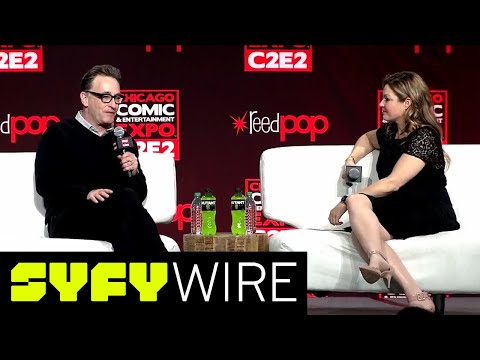 Tom Kenny Spongebob Squarepants Full Panel  C2E2  SYFY WIRE