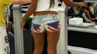 Pattaya, Sexy Thai Beauty Shake Her Ass