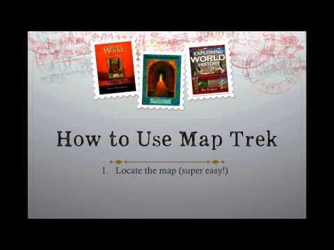 Map Trek Outline Maps Of The World