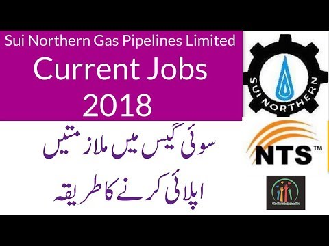 Sui Northern Gas Pipelines Limited Latest (SNGPL) Jobs 2018