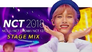 Download lagu NCT 2018 - BOSS(U) + Baby Don't Stop(U) + GO(DREAM) + TOUCH(127) Stage Mix(교차편집) Special Edit.