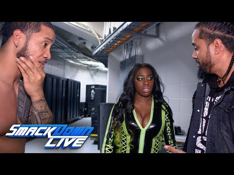 The Usos ask Naomi to avoid The Bludgeon Brothers: SmackDown Exclusive, April 17, 2018