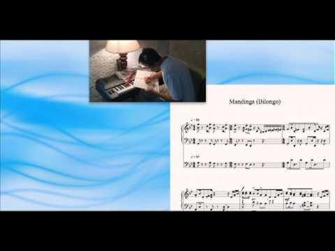 Mandinga, Ruben Gonzalez, piano; Orlando 'Cachaito' Lopez, bass; Sibelius sheet score