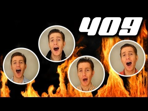 409 (Beach Boys) - One Man Barbershop Quartet - Julien Neel (Trudbol A Cappella)
