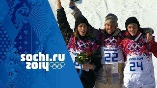 Men's Snowboard Slopestyle - Final - Kotsenburg Wins Gold | Sochi 2014 Winter Olympics
