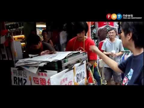 Falling sales and vanishing crowds at Petaling Street