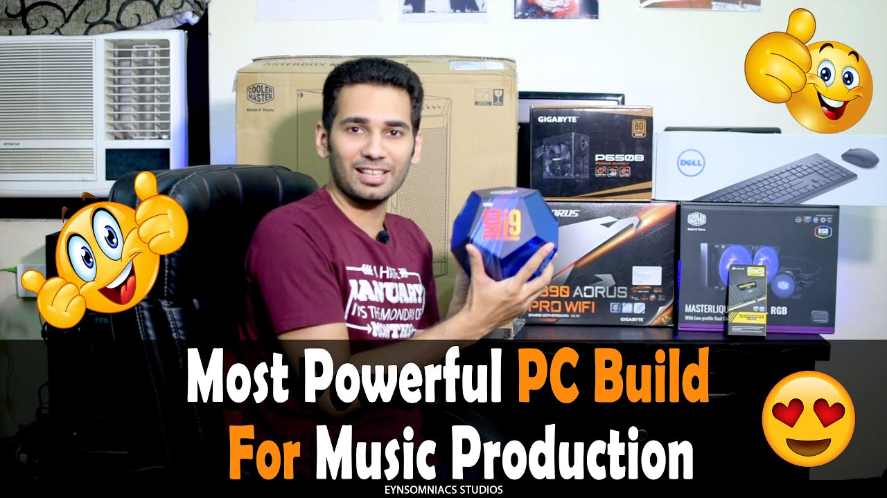 Most Powerful PC Build for Music Production in 1 12 Lakh