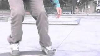 Skateboarding Tricks: Shove-It Foot Placement