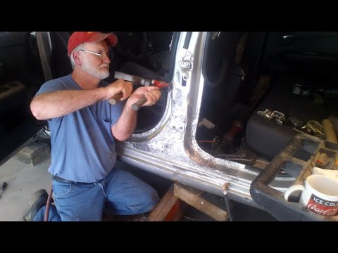 Replace Doors Repair Center Post  Auto Body Techniques