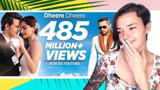 Dheere Dheere | Hrithik Roshan, Sonam Kapoor | Yo Yo Honey Singh | REACTION! | Indi Rossi