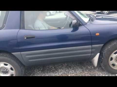 Видео-тест автомобиля Toyota RAV-4 (SXA10-0088355 1995 г) темно-синий