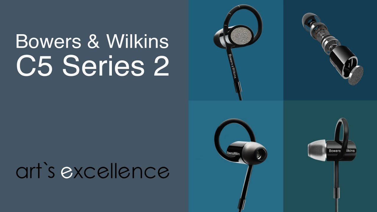 bowers and wilkins c5 series 2 in ear headphones. b\u0026w c5 series 2 in-ears bowers and wilkins in ear headphones e