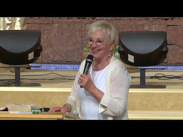 18 Juli 2019 Eftermiddagsmöte med Linda Bergling under Mirakelkonferensen 2019