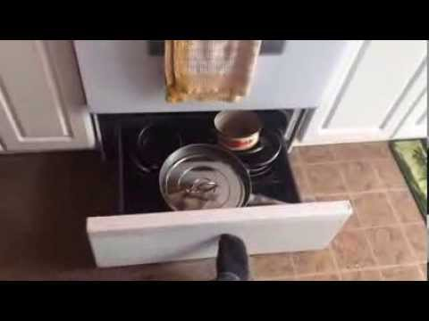 Stove Drawer Stuck Or Jams Diy Fix Youtube