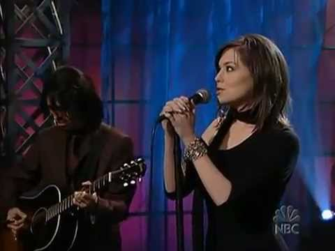 Anna nalick on jay leno