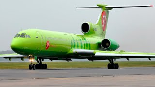 Ту-154 - 10 посадок за 10 минут / 10 лет каналу FILINVIDEO (2010-2020)
