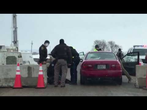 EXCLUSIVE: Police Rough Up Water Protector in Standing Rock