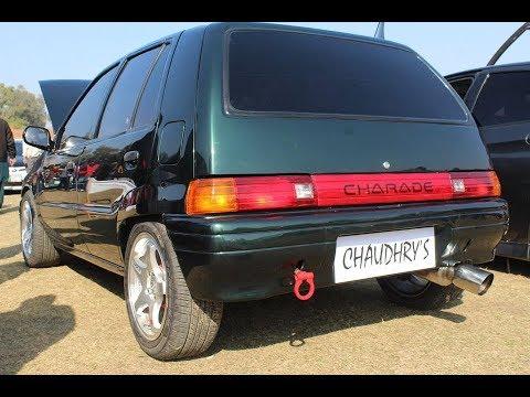 Daihatsu Charade Modified | Muneeb Akram | PGC Motor Show