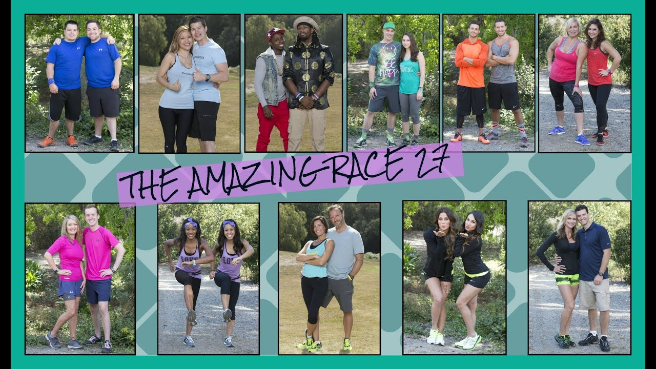 GET TO KNOW THE CAST OF THE AMAZING RACE 27