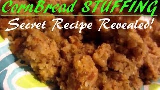 How To Make Really Good Cornbread Dressing / Stuffing From Scratch - Part 1 Of 2