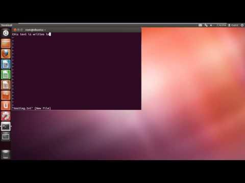 How to Use VI Unix Command