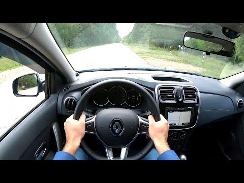2019 Renault Logan Stepway 1.6 (113) POV TEST DRIVE