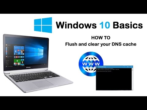 Windows 10 Basics - How to clear and flush your DNS cache