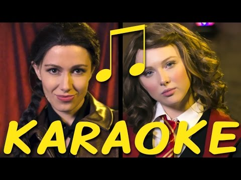 KATNISS vs HERMIONE Karaoke (Princess Rap Battle) Instrumental Sing-along