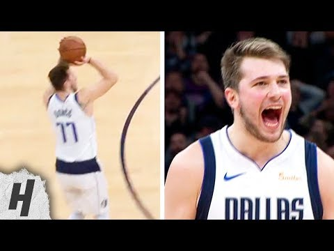 Luka Doncic Loses the Ball, Gets Back & Hits CRAZY CLUTCH Shot vs Timberwolves   January 11, 2019