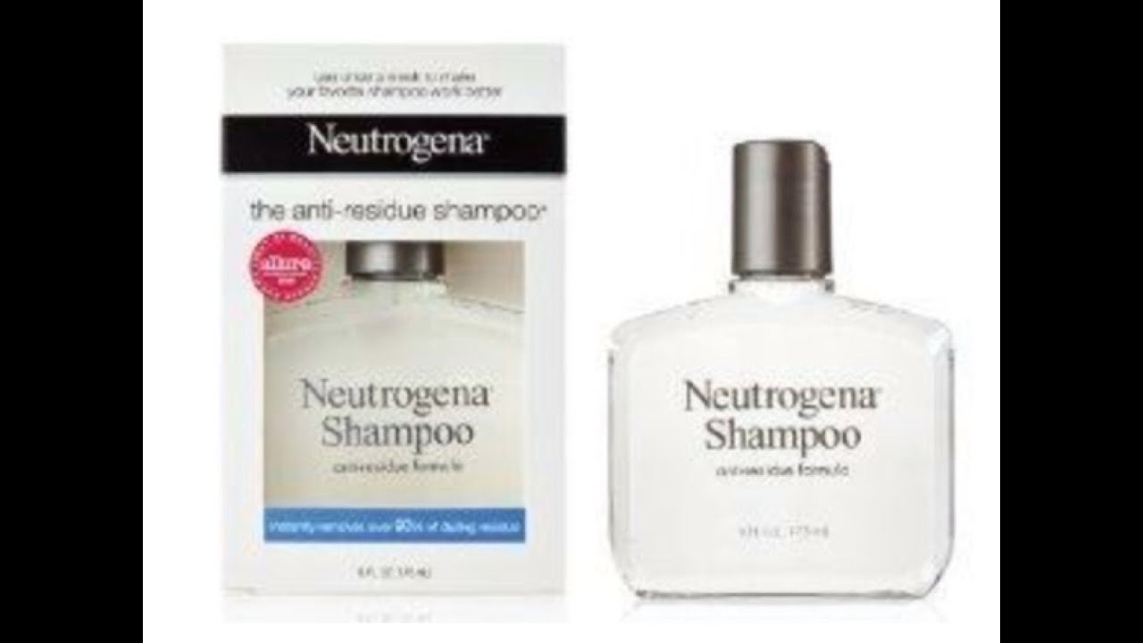 140 Neutrogena Anti Residue Shampoo Review Youtube