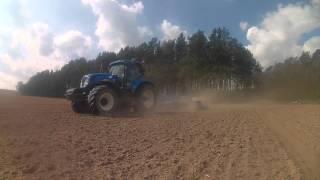 Wiosna 2016 w GR Kamienica czyli Siew Zbóż , Traw, Buraków ,Kukurydzy z Smerfami